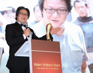 Xu Haofeng - Best Director. © AFTP (Asian Film & TV Promotion)