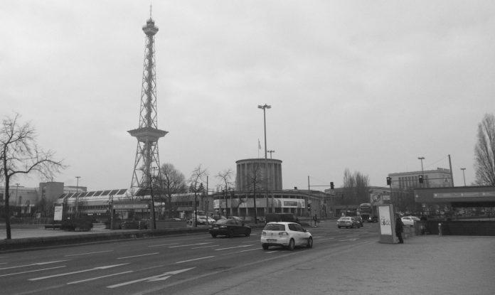 The Funkturm in Berlin.