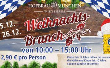 Xmas brunch at the Hofbräu Munich - Wirtshaus Berlin 2017