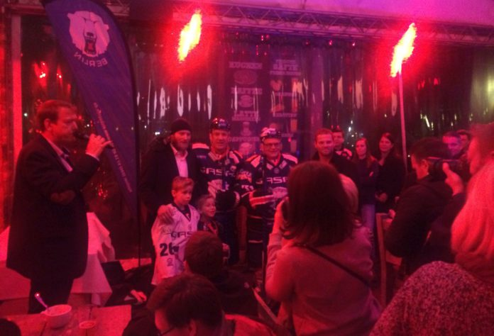Supporters Club Meeting at Pirates Berlin on January 23, 2018 - in a