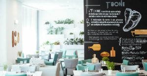 Taking a look into the T-bone restaurant at the Tivoli Oriente Lisboa hotel. © Minor Hotels