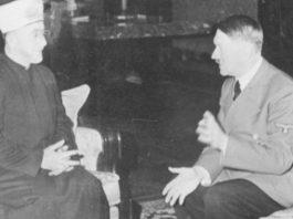 Amin al Husseini und Adolf Hitler 1941 in Berlin.